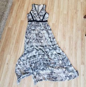 Calvin Klein snakeskin dress